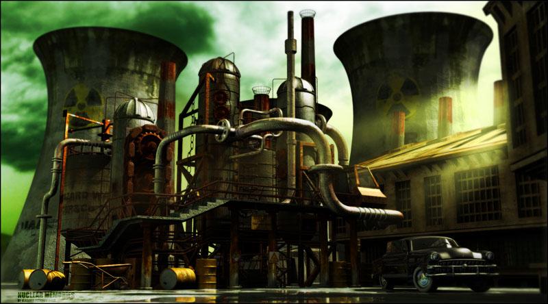Nuclear Memories by vladimirpetkovic
