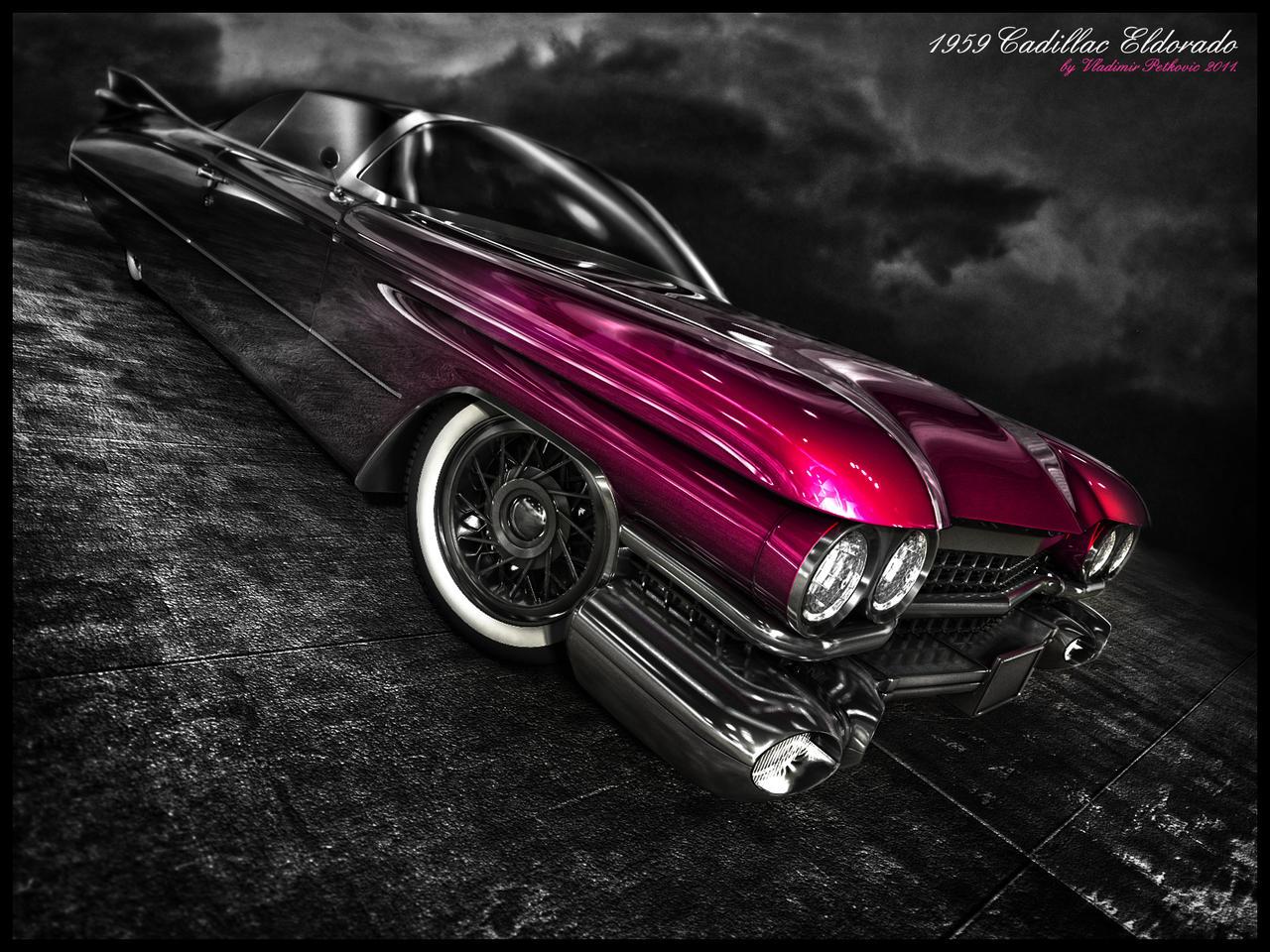 Cadillac Eldorado 1959 by