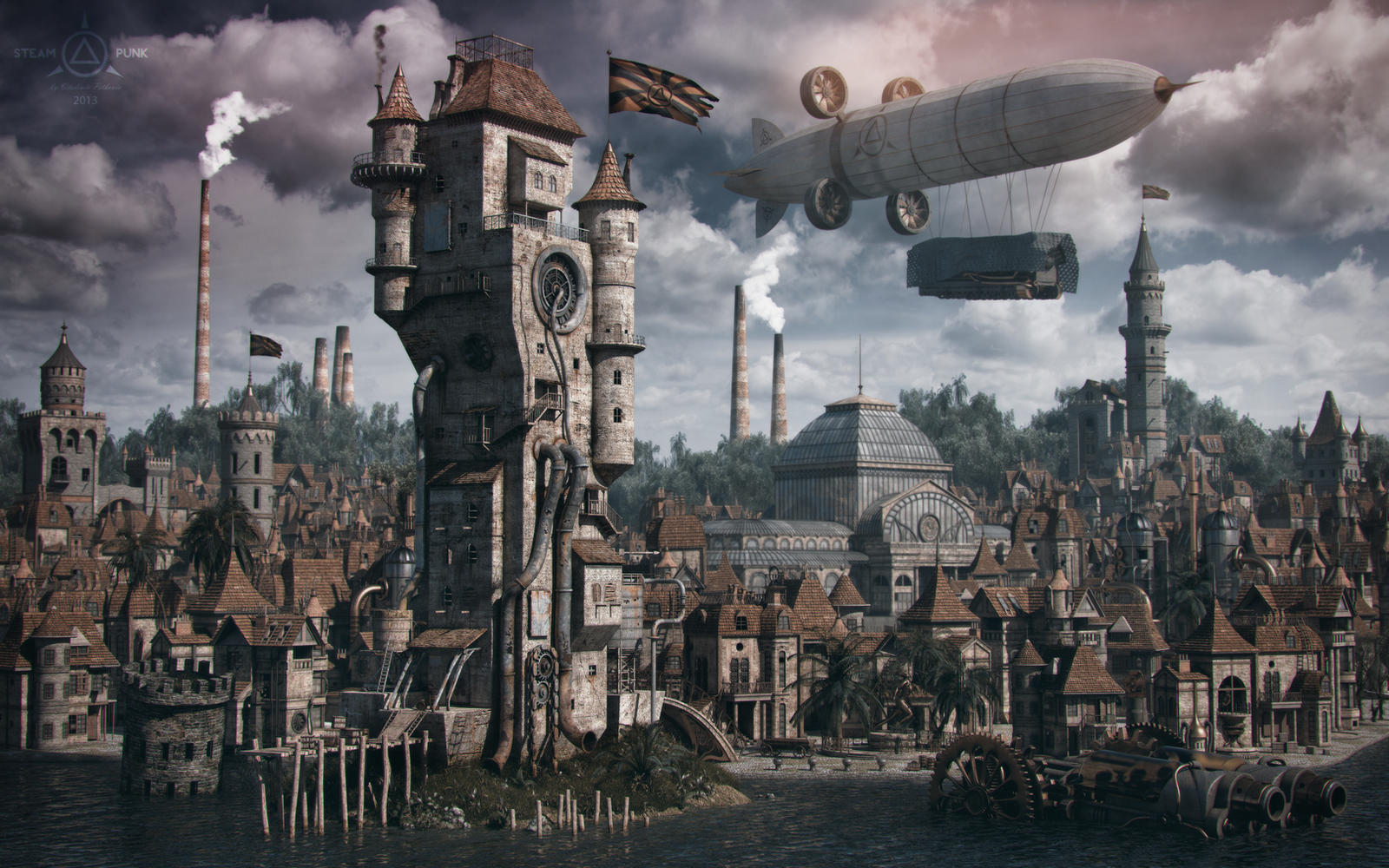[Golden Month] Time Commander by Gaslight [Libre] Steampunk_by_cuber-d64id42