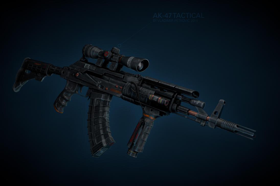 Ak-47 by cuber