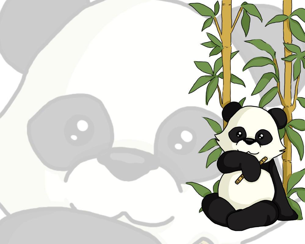 Panda wallpaper 1 by battleangelmel on deviantart - Panda anime wallpaper ...