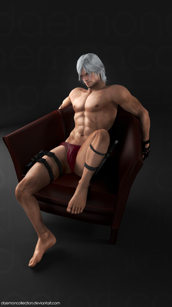 Devil May Cry - Dante Render by DaemonCollection