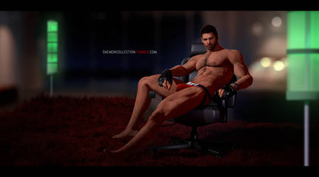 Chris Redfield Jockstrap - Quiet by DaemonCollection