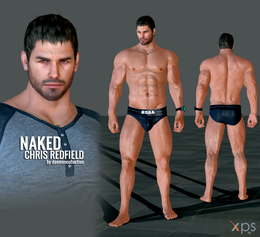 XPS - Naked Chris Redfield by DaemonCollection on DeviantArt