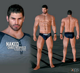 XPS - Naked Chris Redfield