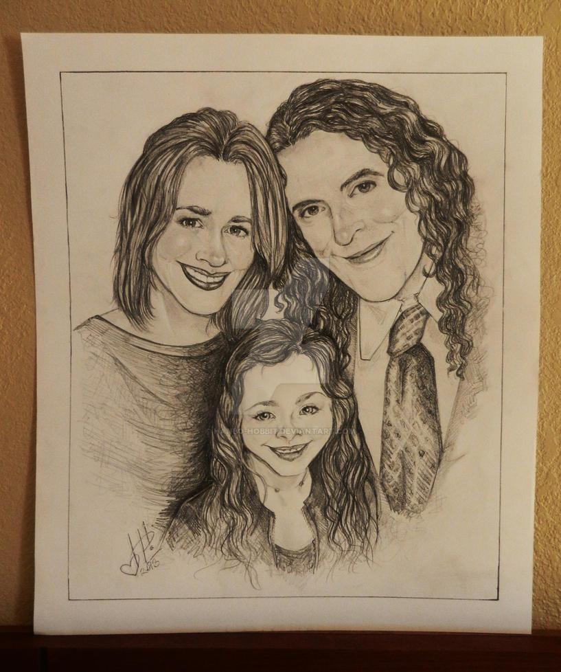 Yankovic Family Portrait by HanBO-Hobbit