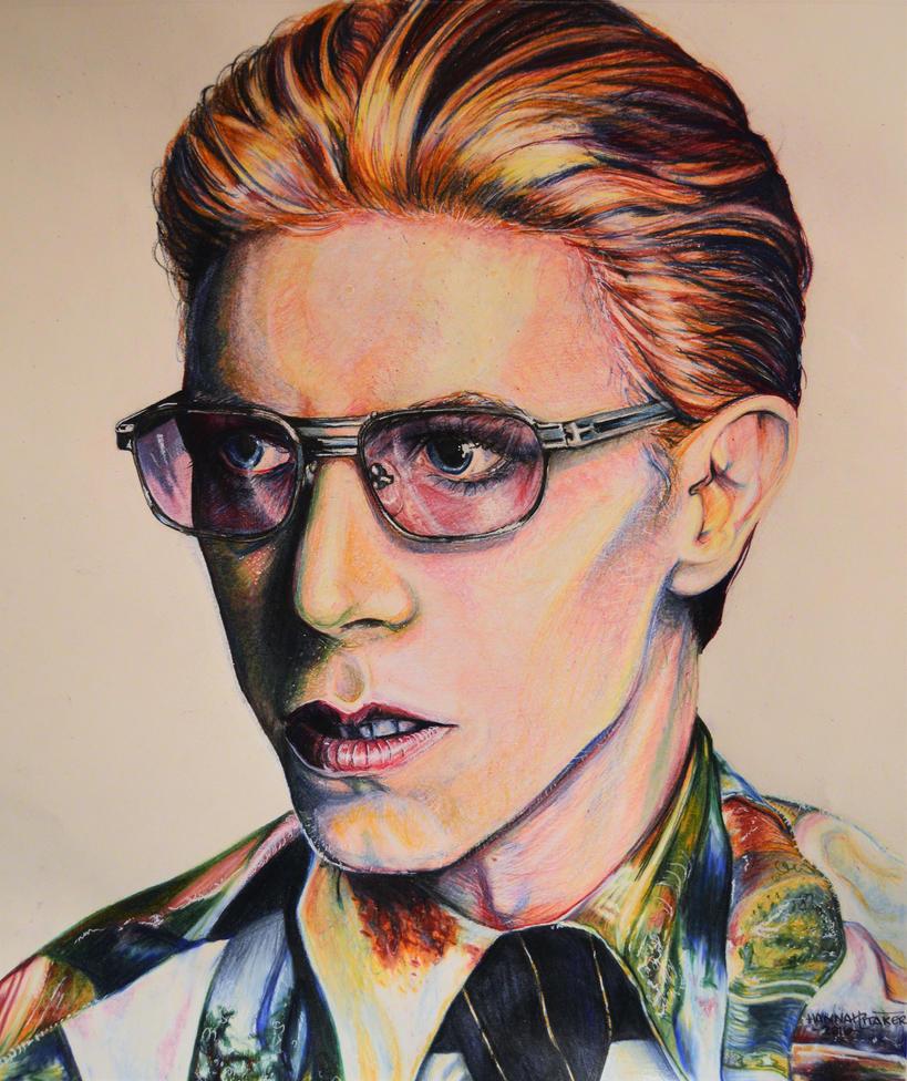 David Bowie by HanBO-Hobbit