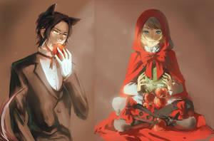 Kuroshitsuji: Red Riding Hood by numina-namine