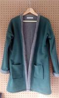 Warm green vest