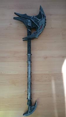 Skyrim daedric axe