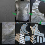 Patterning leather armour by MarisArmoury