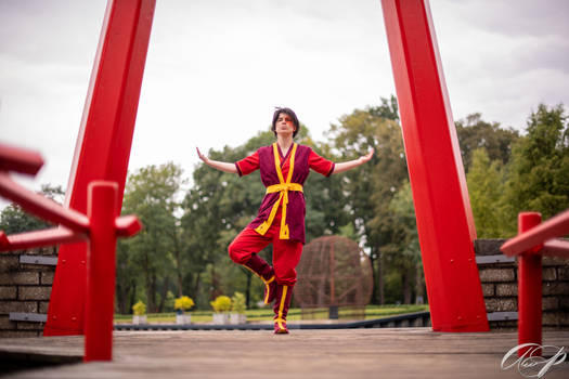 Zuko: Dragon dance