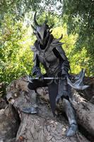 Skyrim Daedric armour by MarisArmoury