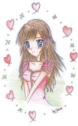 Beautiful girl by AsukaPanda