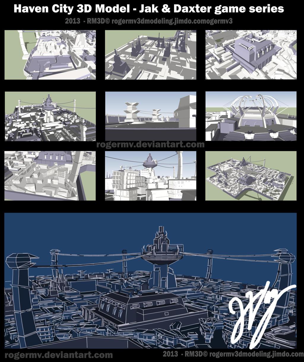Jak N Daxter Game Series By RogerMV