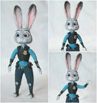 Judy Hopps from Zootopia by mrsoreilly