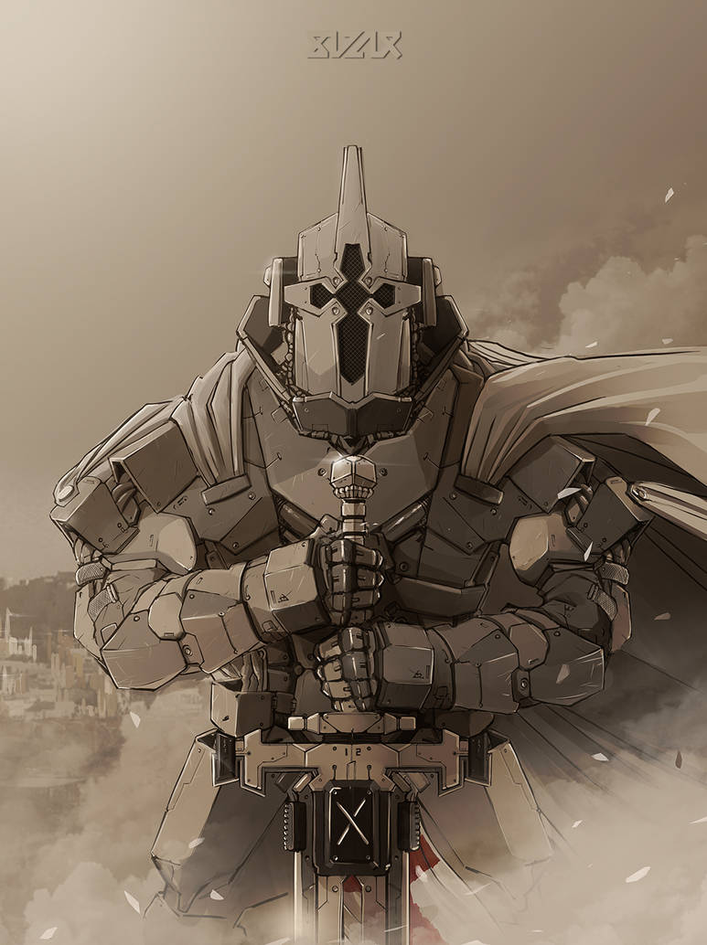 Templar knight improved by BLZ-R