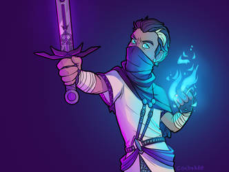 Rythian Doing More Magic Stuff