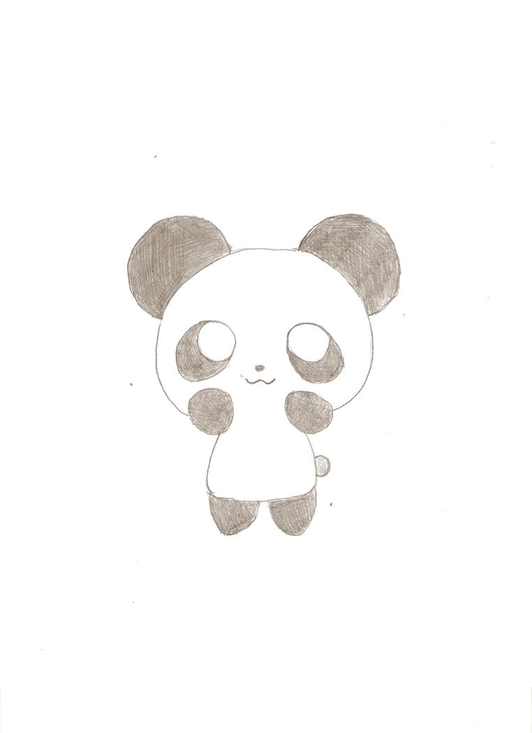 Super cute panda by ihatejunebugs on deviantart for Super easy drawings