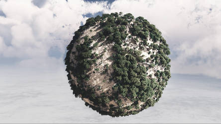 Mini-planet.
