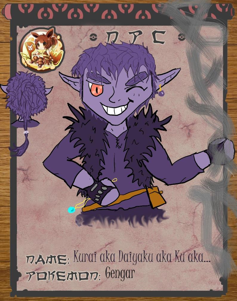 Kurai's app by Cheesegoddess