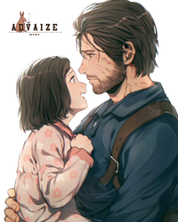 Render Sebastian and Lily by Advaize