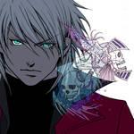 Dante and skulls