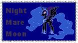 Nightmare Moon Stamp by CuboneGirl