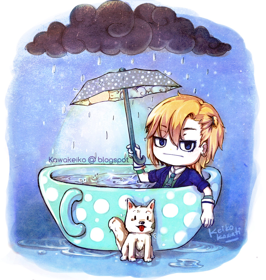 Rain Magician by KawaKeiko