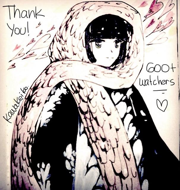 600 milestone! by KawaKeiko