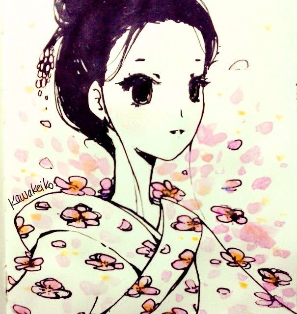Sakura by KawaKeiko
