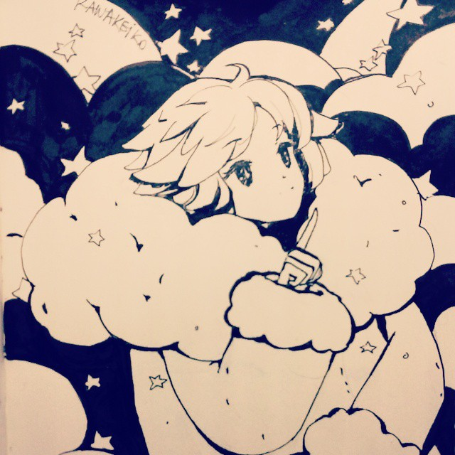 Counting stars by KawaKeiko