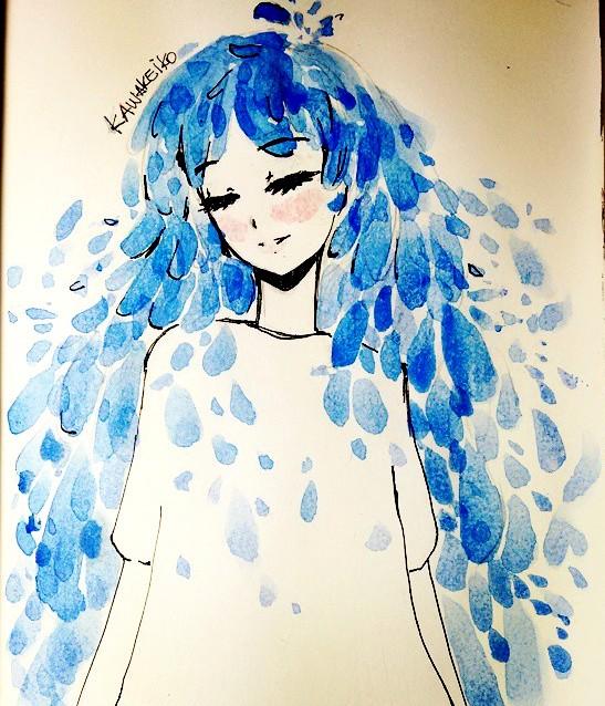 Water fountain by KawaKeiko