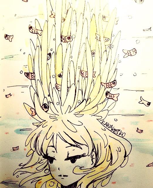 Anemone by KawaKeiko