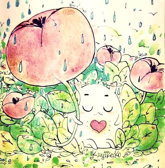 Rain by KawaKeiko