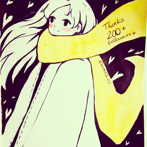 200 Milestone by KawaKeiko