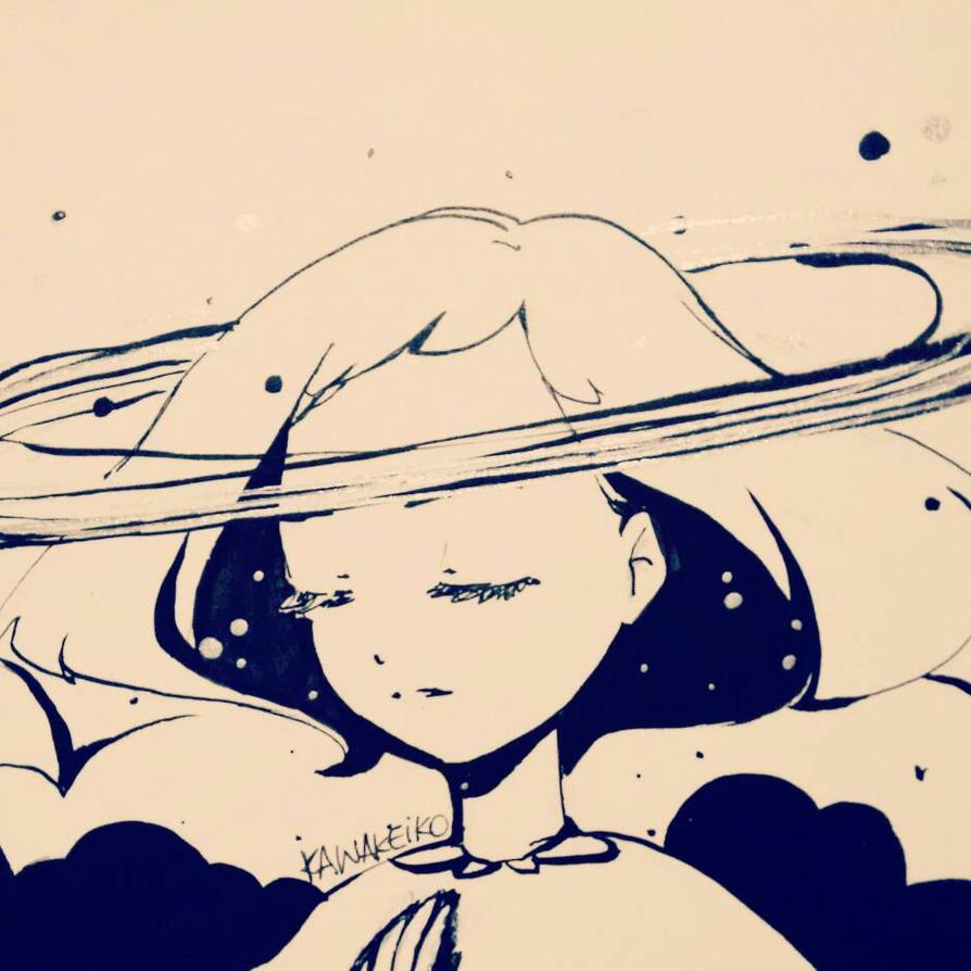 saturn by KawaKeiko