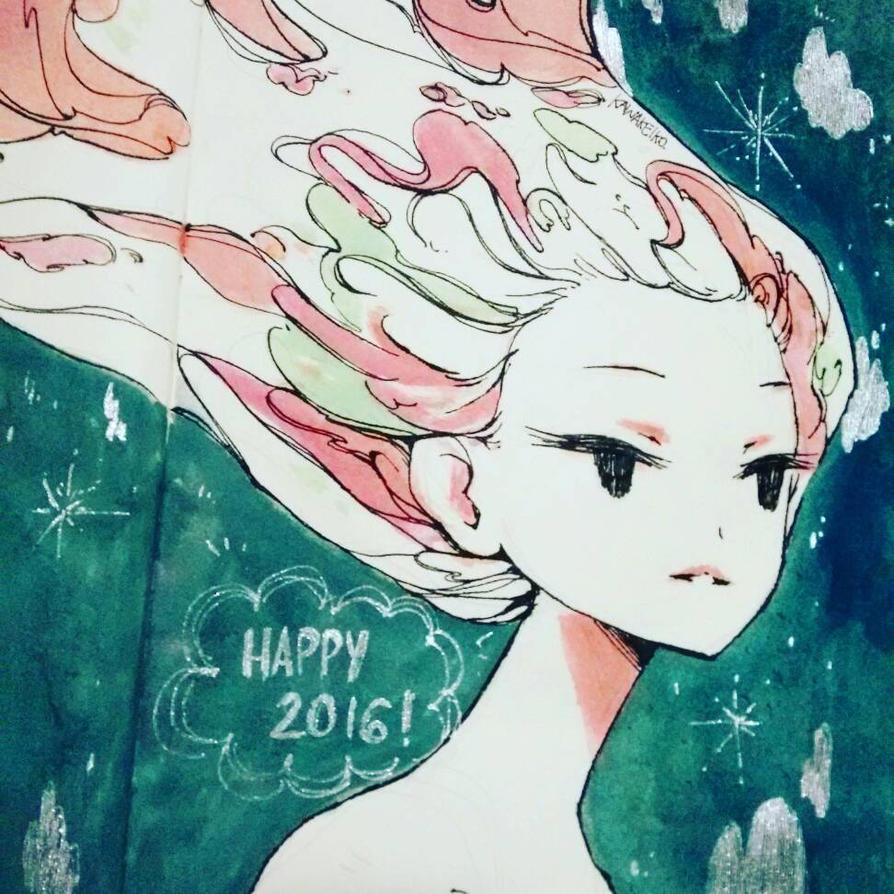 Happy 2016 by KawaKeiko