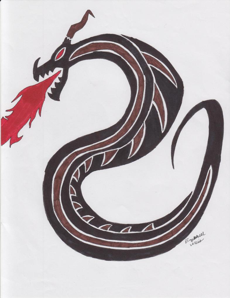 tribal serpent 2 by ealdeth on deviantart