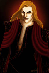 The Black Captain of Morgoth by janique-marie