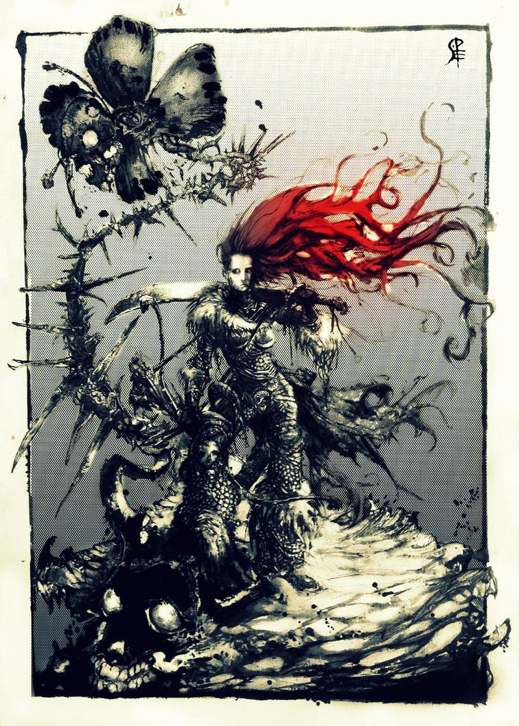 Sonja of Hyrkania by Pedro-Elefante