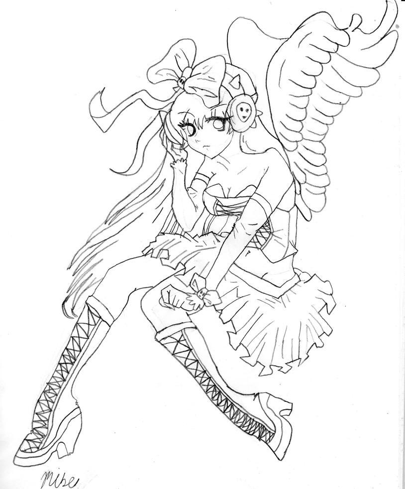 angel girl by dusk 728 on deviantart