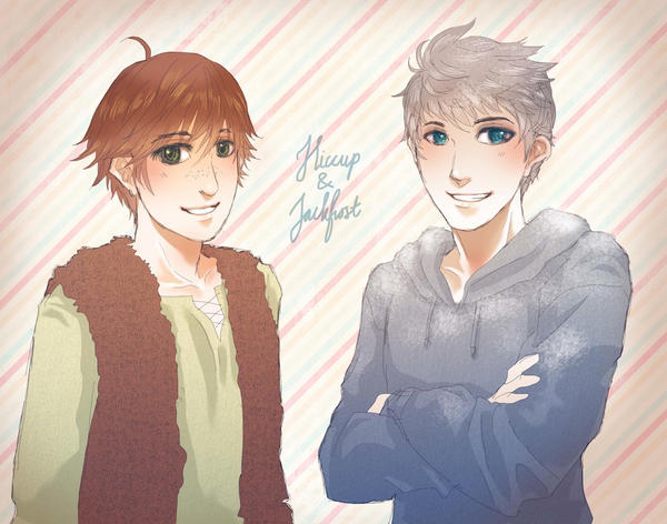 Hiccup And Jackfrost By ChartreuseFae On DeviantArt
