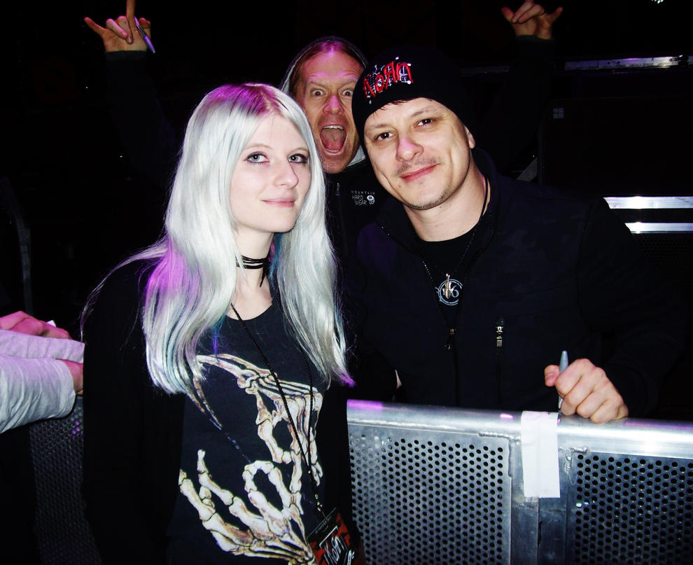 Ray Luzier and me by AnnSanityOo