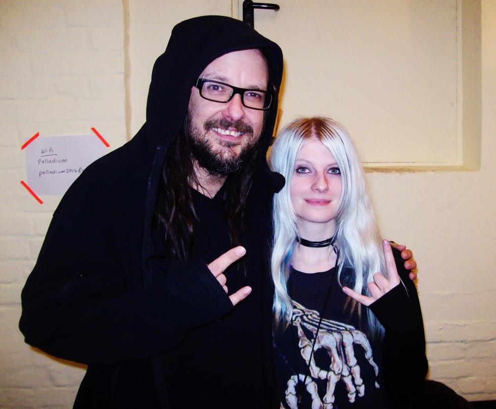 Jonathan Davis and me by AnnSanityOo