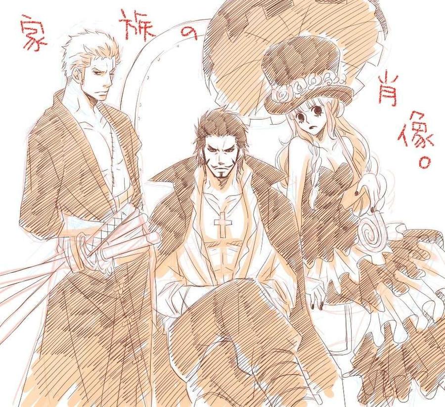 Gothic threesome by Urikko
