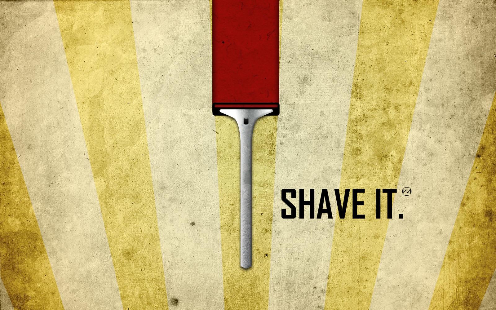 Zedd Shave It Wallpaper by ValencyGraphics