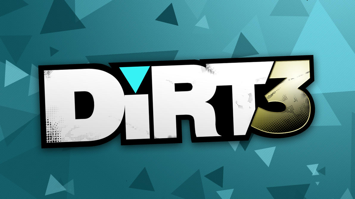 Dirt 3 Logo Remake Wallpaper by ValencyGraphics