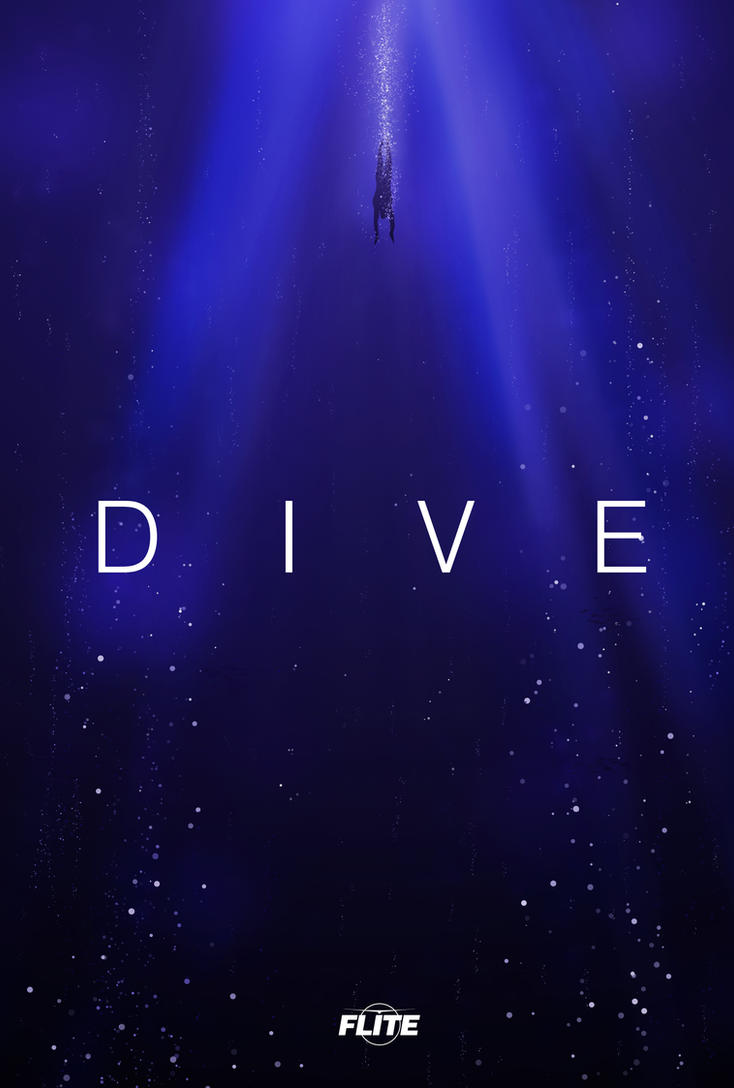 Flite EP Dive Fan Poster by ValencyGraphics