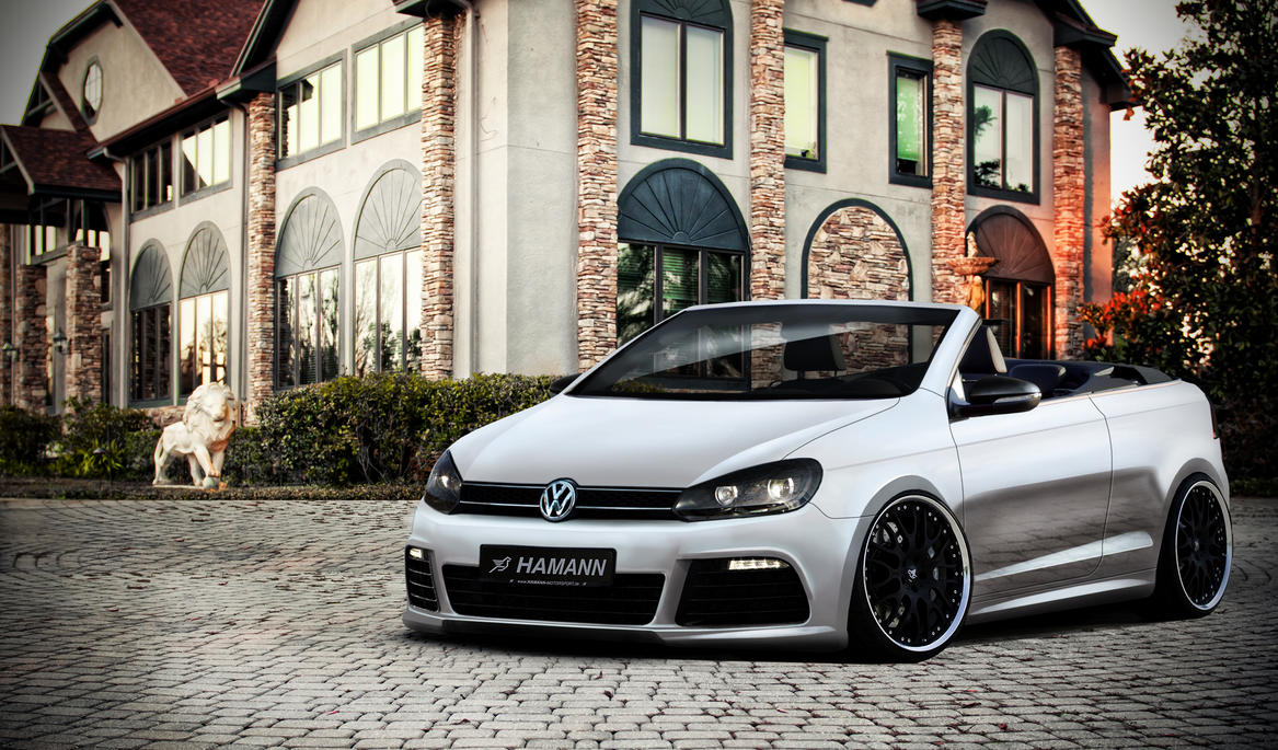 vw golf 6 cabriolet by marko0811 on deviantart. Black Bedroom Furniture Sets. Home Design Ideas